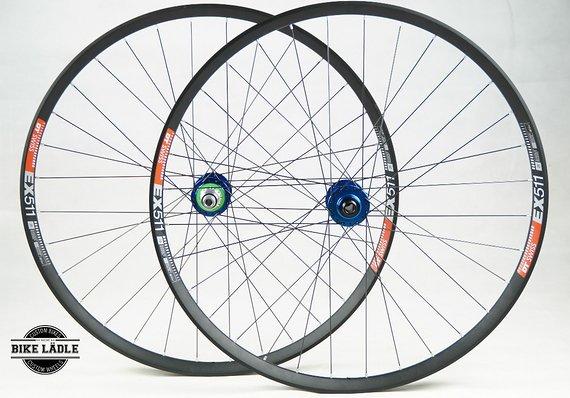"""DT Swiss EX511 Laufradsatz 27,5"""" / 29"""" mit Hope Pro 4 EVO Naben / Bike-Lädle Laufradbau"""