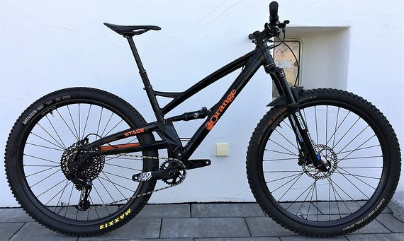 "Orange Stage 4 M 29"" 2019er Modell 12,7kg , CarbonLaufradsatz, Eagle, Testbike"