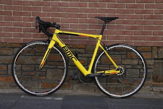 BMC Teammachine SLR03 RH54 gelb ***wie neu***!!!