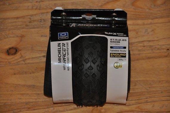 "Michelin Wild Race'r Enduro Rear Gum-X 27,5x2,35"" Racer Enduro Reifen, mega Grip, neu"