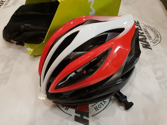 MET Helm Thesis Rot Weiß Rennrad L Neu