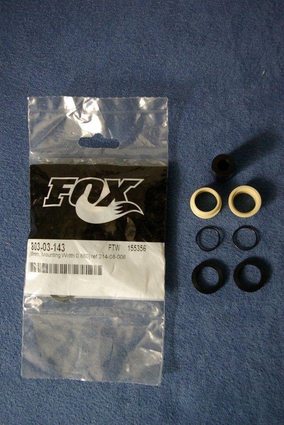 Fox  Racing Shox Original Dämpferbuchsen M6 x 21,84