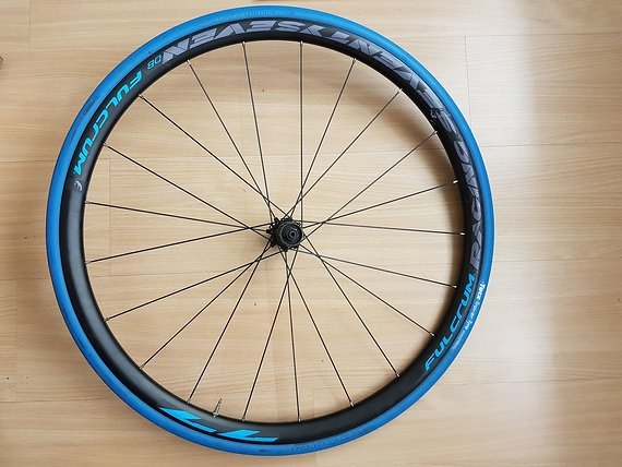 "Fulcrum 28"" 77 DB Disc CX Rennrad/Cyclocross Hinterrad"