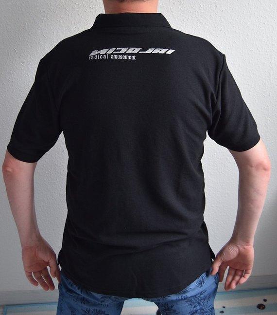 Gildan / Nicolai Poloshirt Gr. XL Schwarz