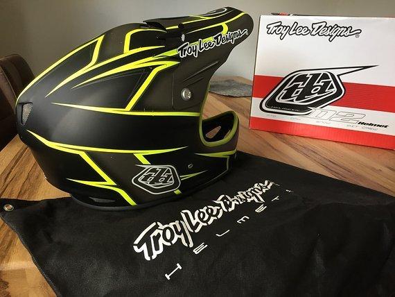 Troy Lee Designs D2 Helm Turbo XL/XXL