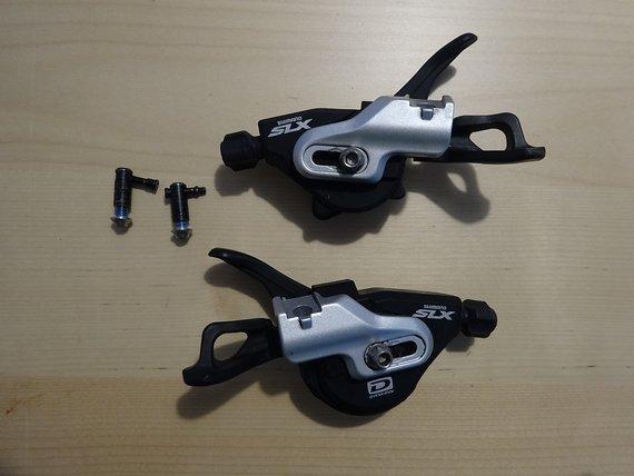 Shimano SLX 670 Schalthebel 2/3x10 I-Spec B