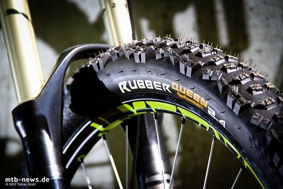 Continental Rubber Queen/Trail King UST 26x2.4 Black Chili