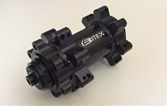 Bitex BX401F Vorderradnabe 110mm QR schwarz 28L NEU