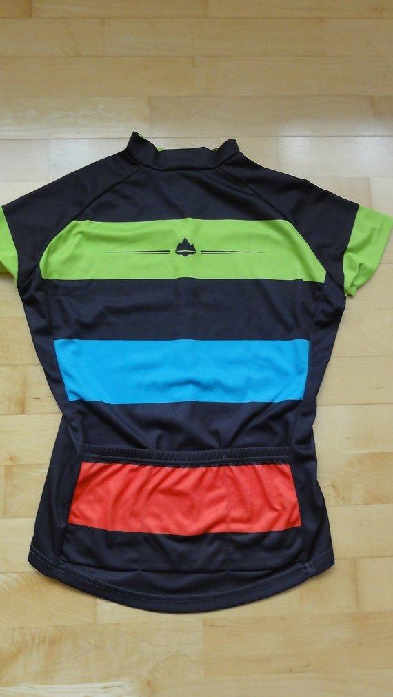 Primal Europe Damen Radtrikot Bold Cycling Jersey, schwarz/bunt, XS