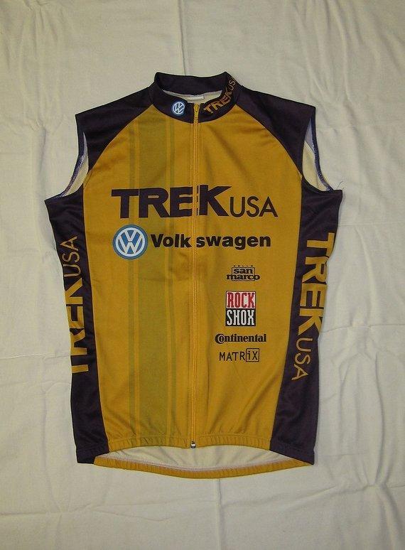 """Trek retro-Kult: TREK Team-Trikot/Tank """"Rocket Boy"""", Gr. L/4/50"""