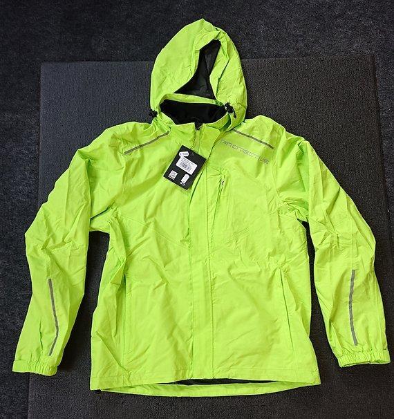 Protective P-Rain II Regen Jacke Herren neon green - Größe L