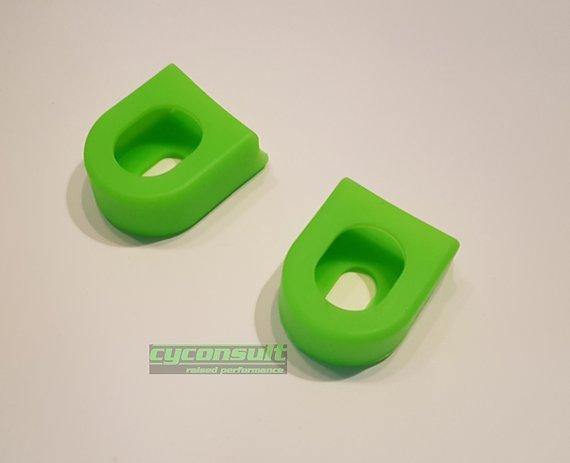Silicone flex-protect Kurbelschützer Crank Boots *leucht grün*