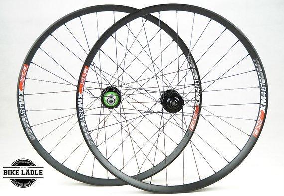 DT Swiss XM 481 Laufradsatz mit Hope Pro 4 EVO Naben / Bike-Lädle Laufradbau