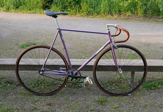 Orlowski Custom Fixie Bahnrad