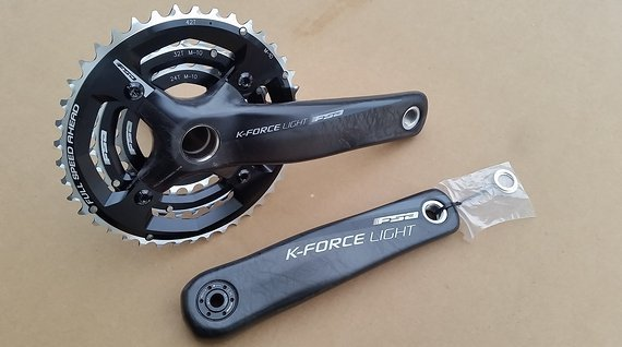 FSA K-Force Light Carbon MTB Kurbel 175 mm