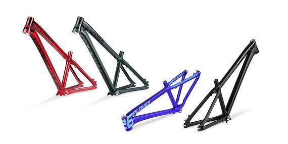Dartmoor Two6Player Dirt Rahmen, wieder lieferbar, in Schwarz und Blau