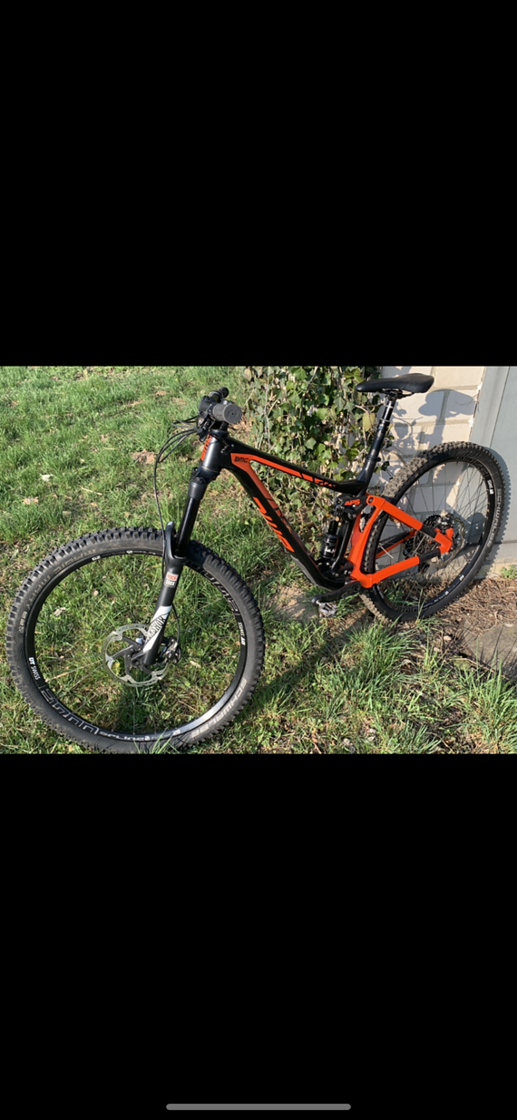 BMC Trailfox 02 XO1 2017 Black/Orange