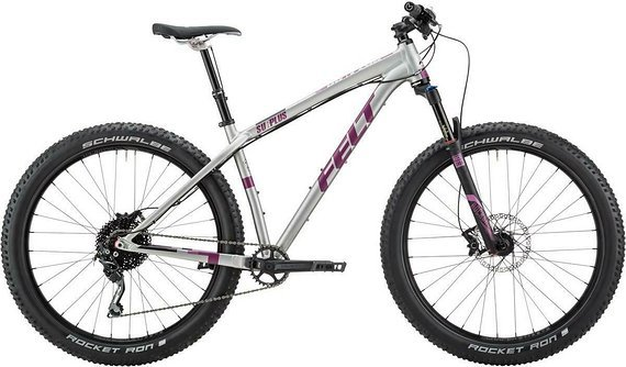"Felt Surplus 30 27.5+"" MTB 10 Speed 2016 Men Reba Silber Neu"