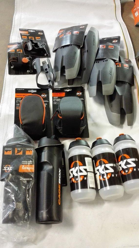 SKS X-Board Schutzblech | Satteltasche | Flaschen | Flaschenhalter NEU