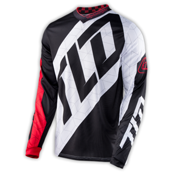 Troy Lee Designs GP JERSEY Gr. S QUEST RED/WHITE/BLACK