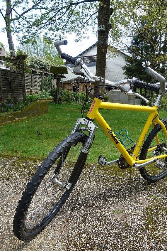 "Noname Selfmade Vintage 26"" Mountainbike"