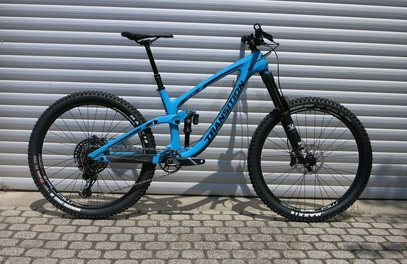 Transition Bikes Komplettbike Patrol Carbon X01 - blau