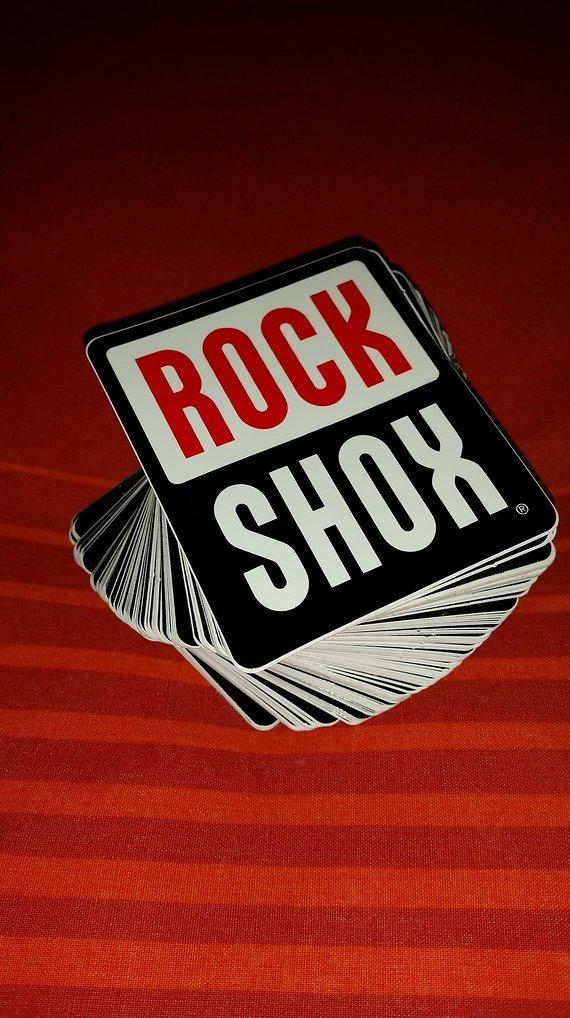 RockShox Aufkleber Sticker Decals bike mtb