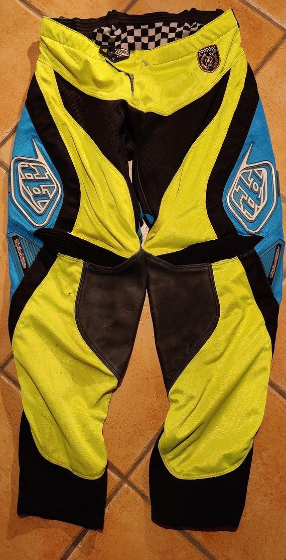 Troy Lee Designs MX Hose Gr 36 SE Pro Course neon-gelb / blau