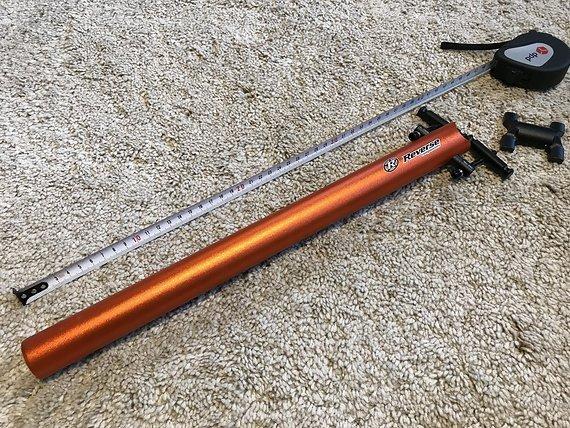 Reverse Components Sattelstütze Comp Lite Ø31.6 400mm Orange Seatpost *VERSANDKOSTENFREI*