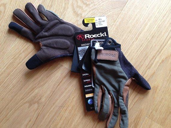 Roeckl ORLEANS Langfinger Handschuh mit Merinowolle 3107 -007 Olive Neu E-Bike