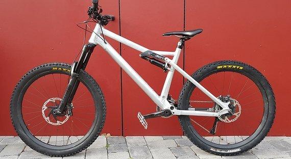Liteville 301 Mk 14 Größe XL - LR Carbon 27,5 - Raw