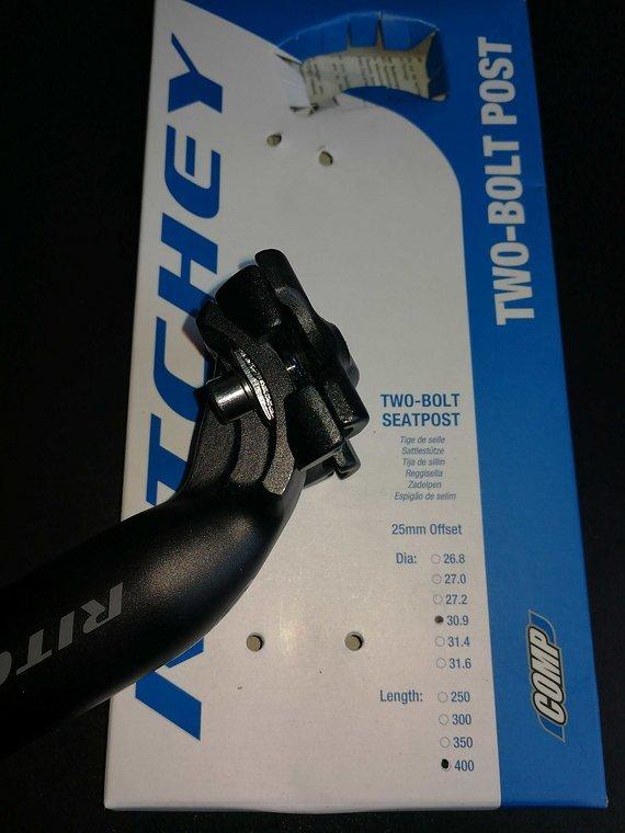 Ritchey Sattelstütze 30,9mm 400mm lang
