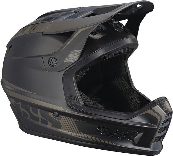 IXS Xact MTB Fullface Helm schwarz-grau  49-52 cm XS/S