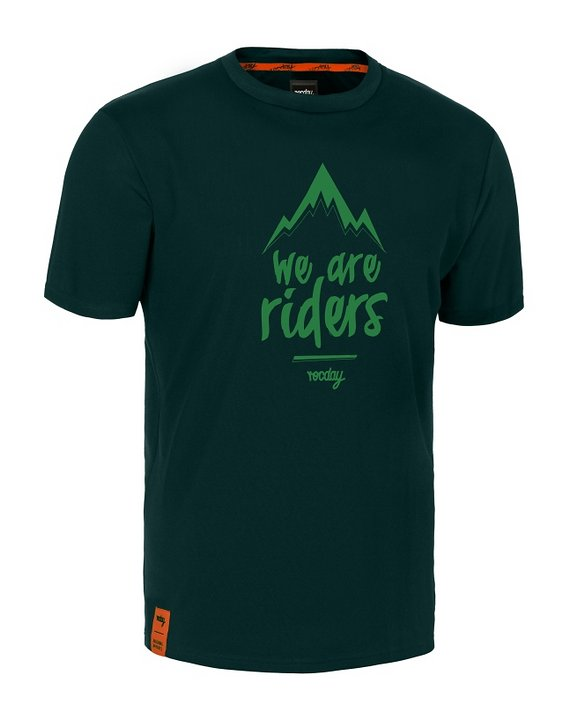 Rocday MTN jersey SANITIZED® RECYCLED FABRIC, Dark Green, Gr. L