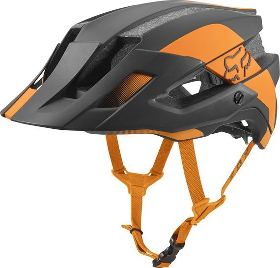 Fox Flux Mips Conduit Helm Gr. M 55-59 cm Atomic Orange