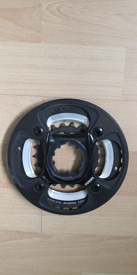Truvativ X0 Spider 2x10 36t/22t Carbon bashguard