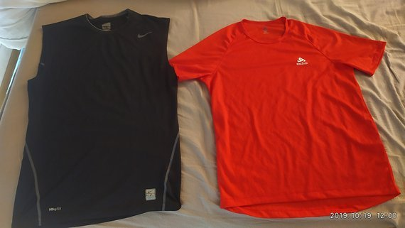 Nike Odlo Funktionsshirts Funktionsunterwäsche