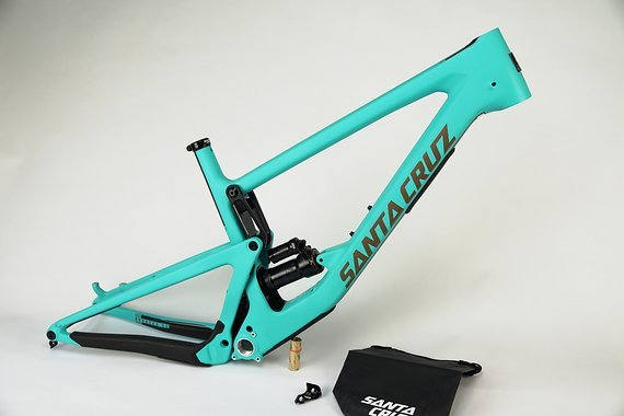 Santa Cruz Bronson CC Rahmen Industry Blue and Gold 2019 Gr. L auf Lager!!!