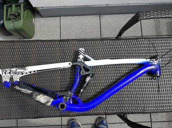 NS Bikes Snabb T Rahmenset Größe S