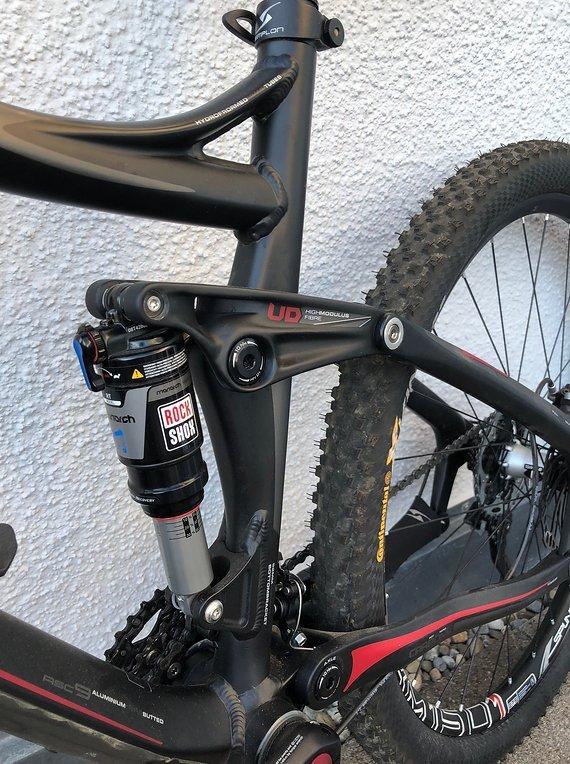 Simplon Kibo Alu/Carbon SLX RH M/45cm