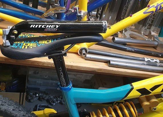 Ritchey Pro Sattelstütze 2 Bolt / 30,9mm / 245mm