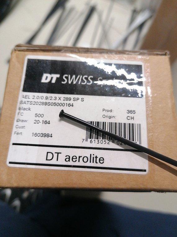 DT Swiss Aerolite 289mm straight pull