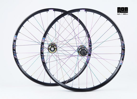 """Noa DIRTY FIRST 26"""" Singlespeed Laufradsatz mit Noa 120 Klicks Naben / Bike-Lädle Laufradbau / Noahubs & Wheels"""