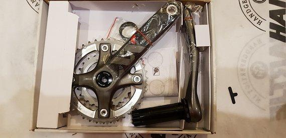 SRAM XX Kurbel 39/26 BB30 175mm Neu Carbon 2x10