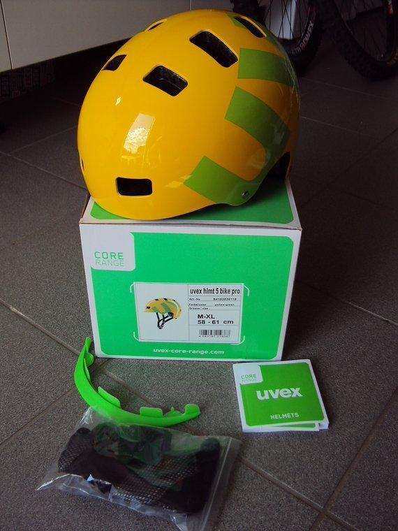 """Uvex Dirt Helm 5 Bike Pro """"M-L"""""""