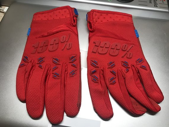 100% Gloves / Handschuhe red Gr. L *NEU*