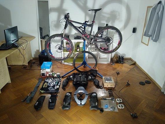 """Canyon EX-Gapstar """"Komplettausrüstung Bikesport"""""""