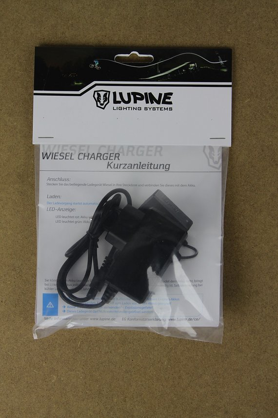 Lupine Wiesel V5 Charger Ladegerät