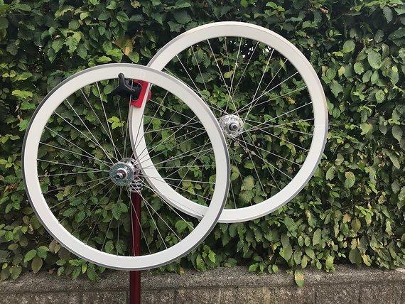 H Plus Son Laufradsatz für Fixie od. Singlespeed bzw Bahnrad