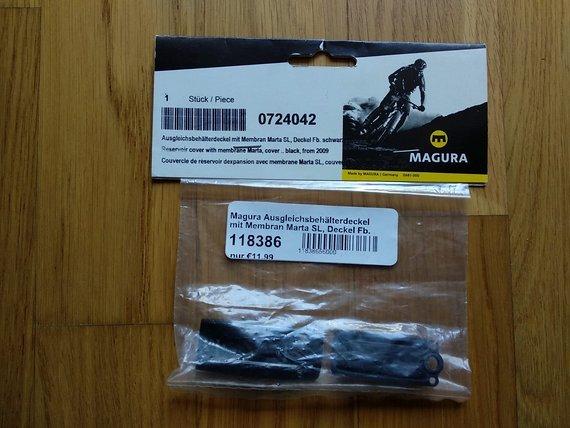 Magura Marta SL Ausgleichsbehälter-Deckel, schwarz, neu, OVP
